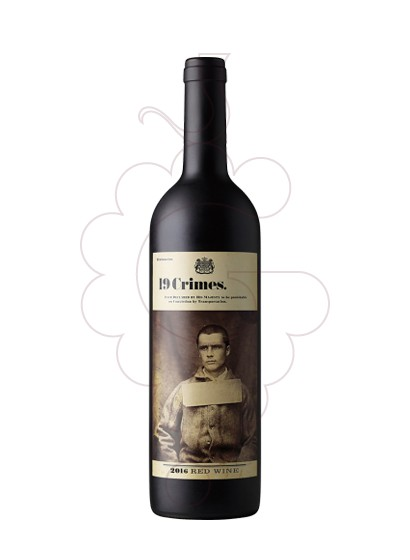Photo 19 Crimes Red Blend red wine