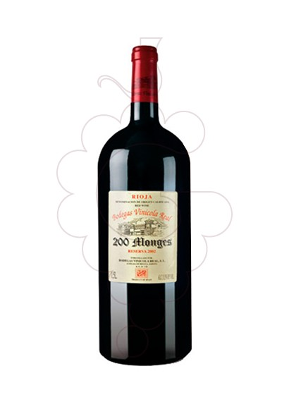 Photo 200 Monges Reserva Magnum red wine