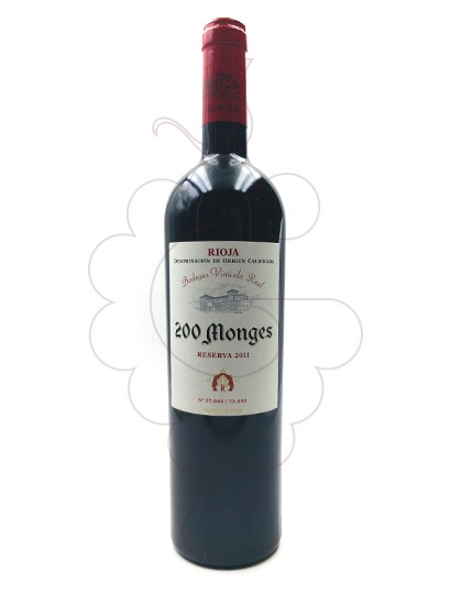 Photo 200 Monges Reserva red wine