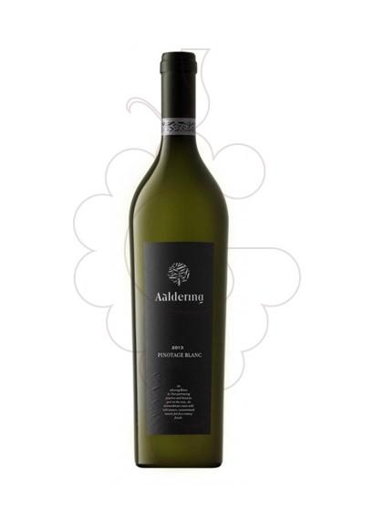 Photo White Aaldering Pinotage white wine