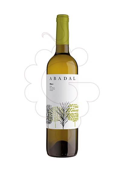 Photo Abadal Blanc white wine