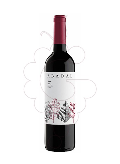 Photo Abadal Franc red wine