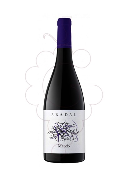 Photo Abadal Mandó red wine