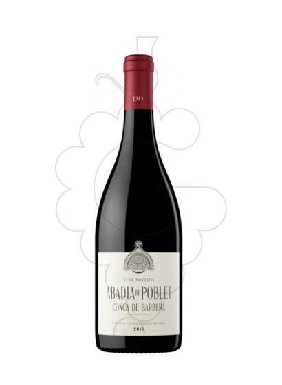 Photo Red Abadia de Poblet red wine