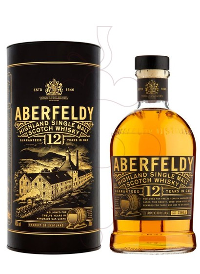 Photo Whisky Aberfeldy 12 Years