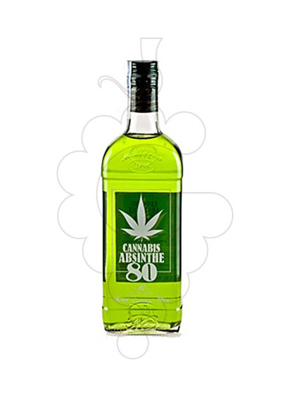 Photo Aperitif wine Absenta 80 Cannabis