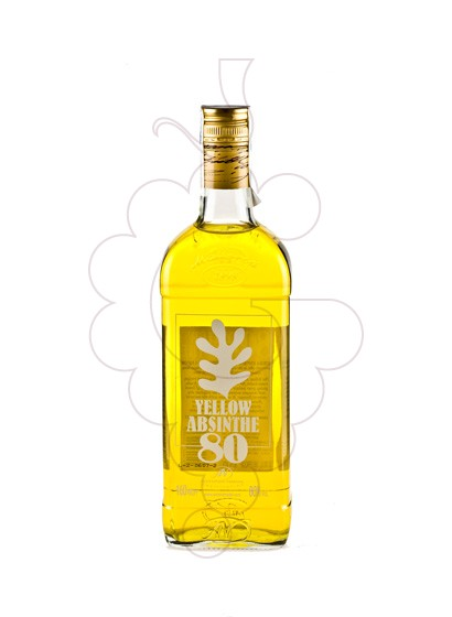 Photo Aperitif wine Absenta 80 Yellow