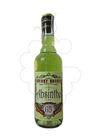 Photo Aperitif wine Cherry Rocher Absinthe