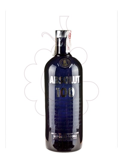 Photo Vodka Absolut 100