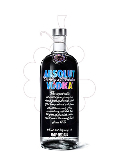 Photo Vodka Absolut Andy Warhol Ed.