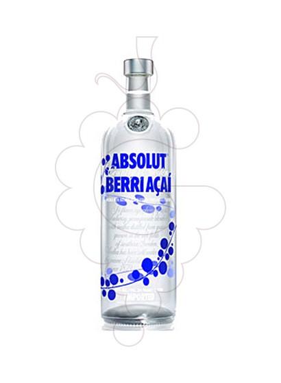 Photo Vodka Absolut Berri Açai