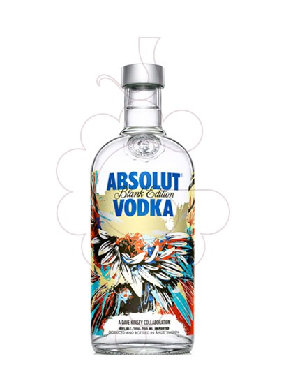 Photo Vodka Absolut Blank Edition (D. Kinsey)
