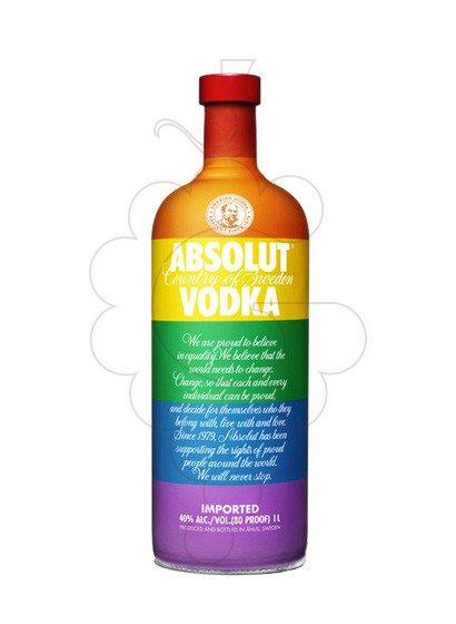 Photo Vodka Absolut Colors