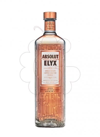 Photo Vodka Absolut Elyx