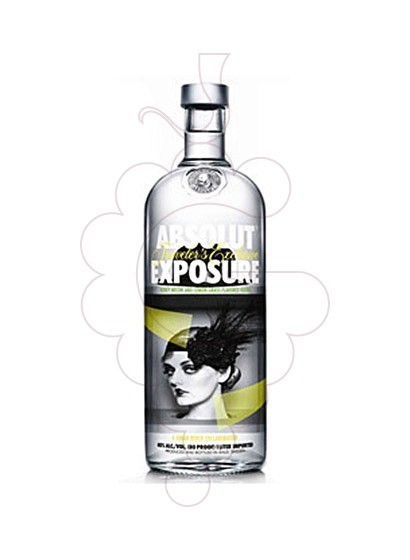 Photo Vodka Absolut Exposure