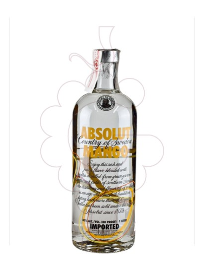 Photo Vodka Absolut Mango