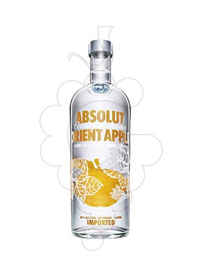 Photo Vodka Absolut Orient Apple
