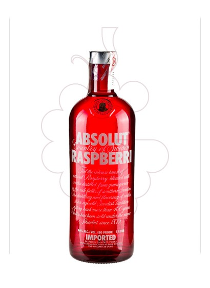 Photo Vodka Absolut Raspberri