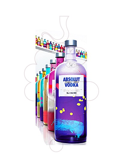 Photo Vodka Absolut Unique Edition