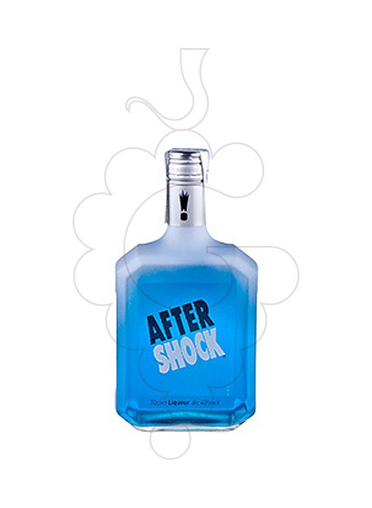 Photo Liqueur After Shock Citrus Azul