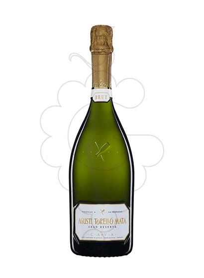 Photo Agusti torello Mata Brut Gran Reserva sparkling wine