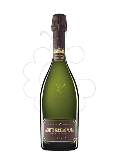 Photo Agusti Torello Mata Brut Nature sparkling wine