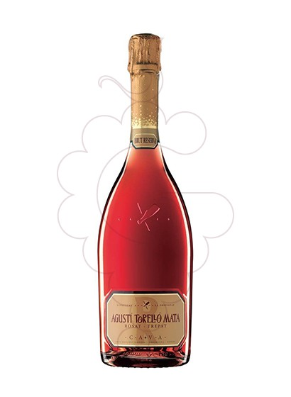 Photo Agusti Torello Mata Rosat sparkling wine