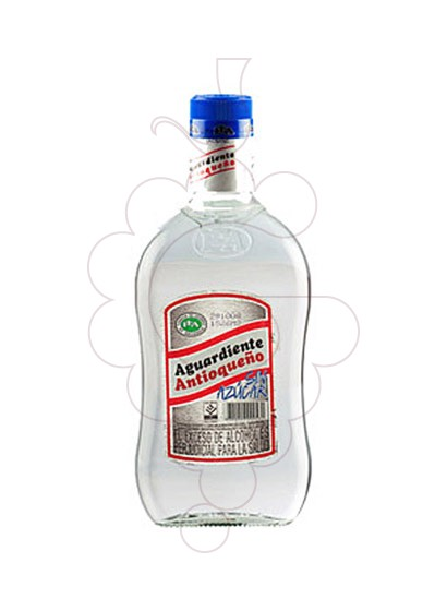 Photo Liqueur Aguardiente Antioqueño without sugar