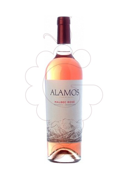 Photo Alamos Malbec Rose rosé wine