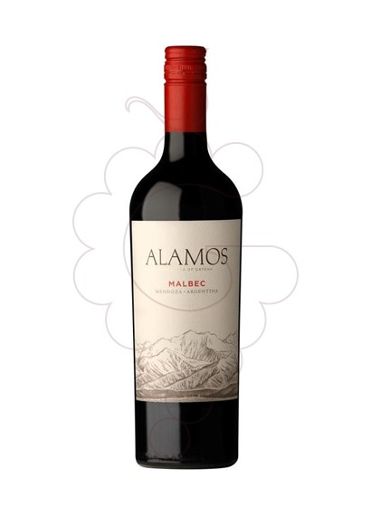 Photo Alamos Malbec red wine