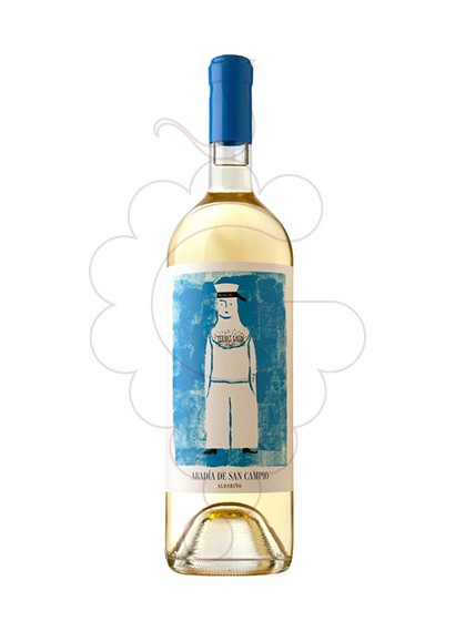 Photo Albariño Abadia de San Campio white wine
