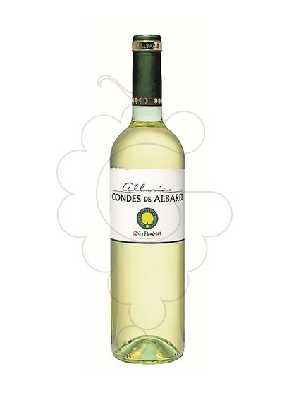 Photo Albariño Condes de Albarei white wine