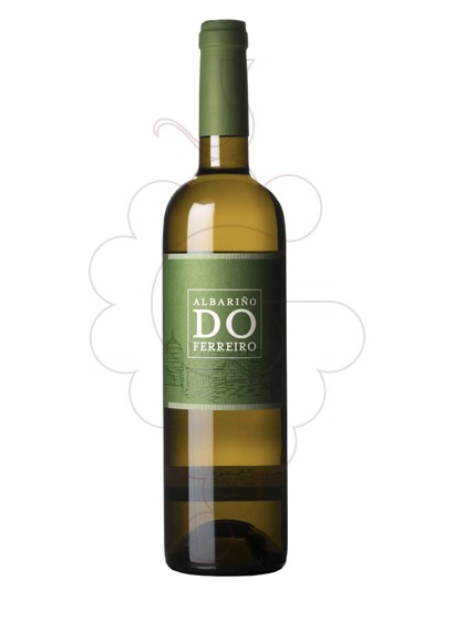 Photo Albariño do Ferreiro white wine