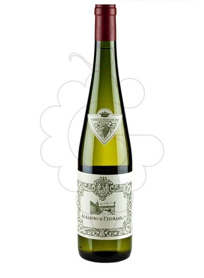 Photo Albariño Fefiñanes Blanc white wine