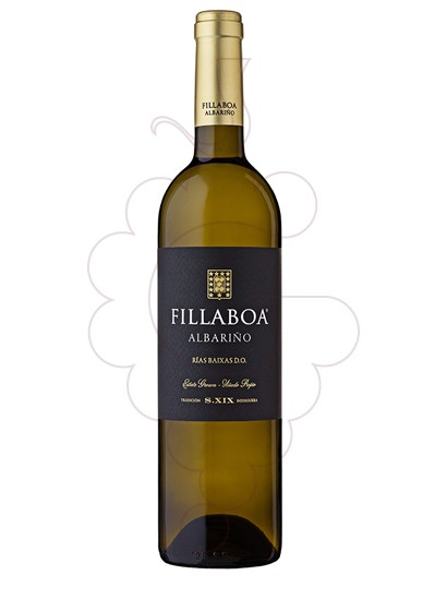 Photo Albariño Fillaboa white wine