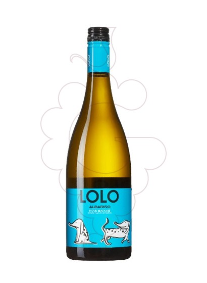 Photo Albariño Lolo white wine