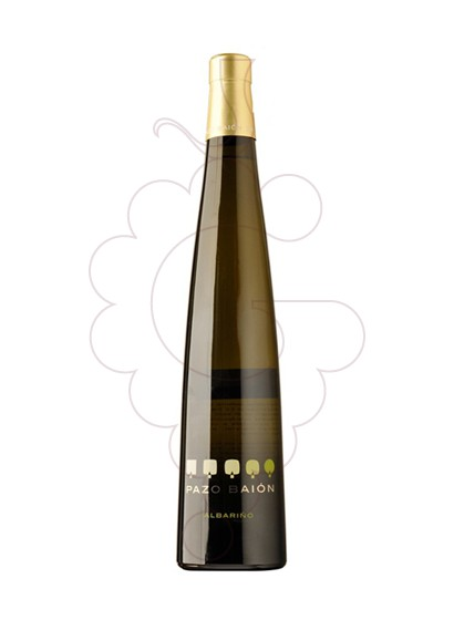 Photo Albariño Pazo Baion white wine