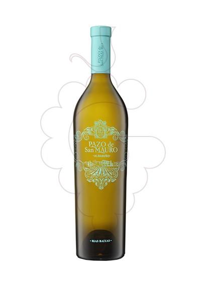 Photo Albariño Pazo San Mauro white wine