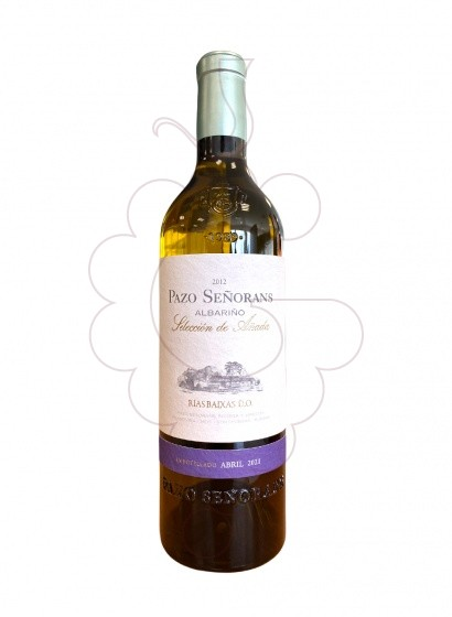Photo Albariño Pazo Señorans white wine