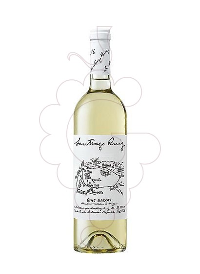 Photo Albariño Santiago Ruiz white wine