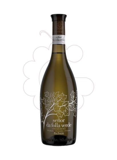 Photo Albariño Señor da Folla Verde white wine