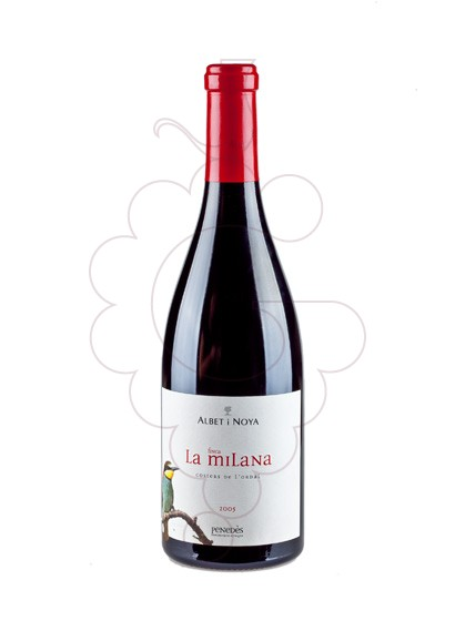 Photo Albet i Noya Finca la Milana red wine