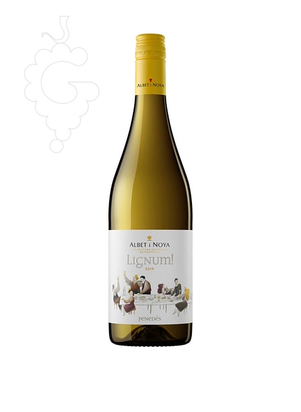 Photo Albet i Noya Lignum Blanc white wine
