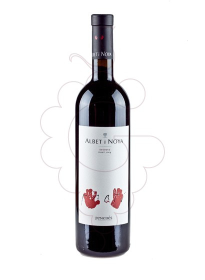 Photo Albet i Noya Reserva Marti red wine