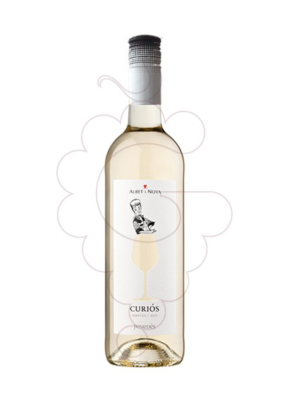 Photo Albet i Noya Curiós Blanc white wine