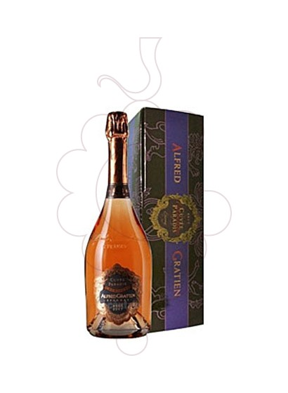 Photo Alfred Gratien Cuvee Rose Brut sparkling wine
