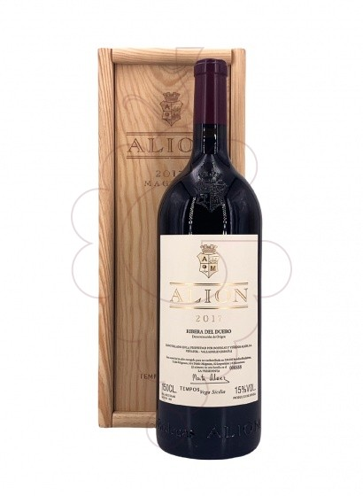 Photo Alion Magnum red wine