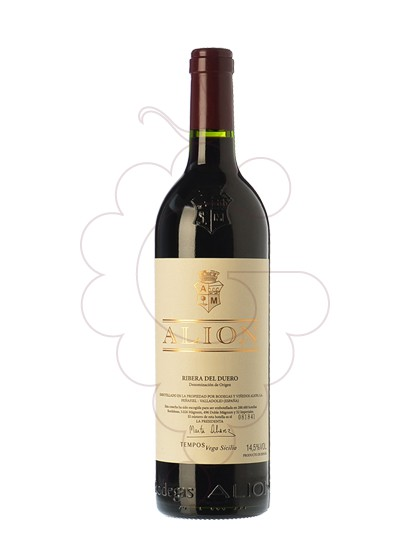 Photo Alion red wine
