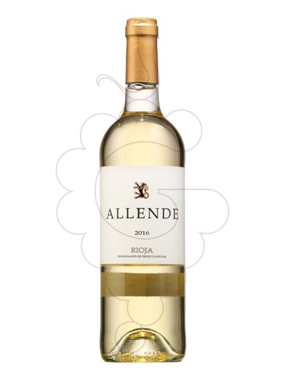 Photo Allende Blanc white wine