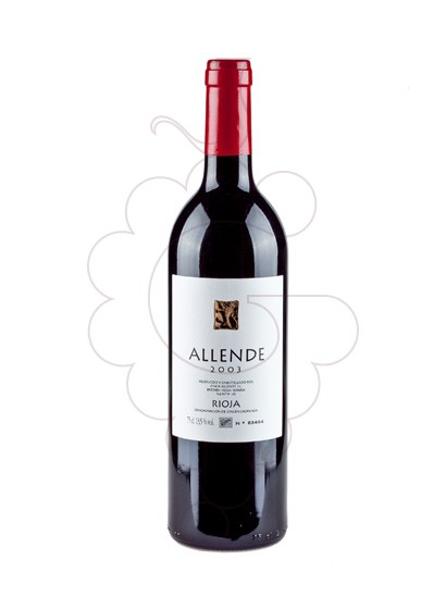 Photo Allende Collita red wine